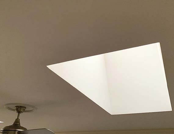 after ceiling